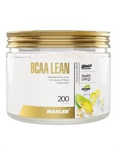 Аминокислоты BCAA Lean имбирь лайм 200 г Maxler