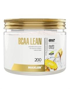 Аминокислоты BCAA Lean ананас кокос 200 г Maxler