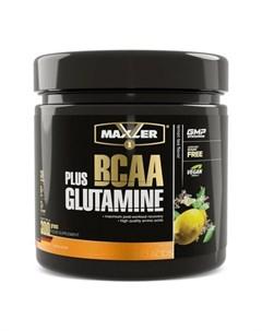 Комплекс аминокислот BCAA Glutamine лимонный чай 300 г Maxler