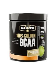 Аминокислоты 100 Golden BCAA зеленое яблоко 210 г Maxler