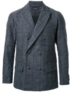 Taakk полосатый двубортный пиджак Taakk