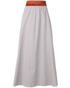 Danielapi юбка с контрастным поясом Danielapi