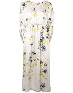 Alice archer платье helia с цветочным принтом нейтральные цвета Alice archer