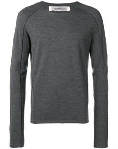 Individual sentiments свитер тонкой вязки с круглым вырезом Individual sentiments