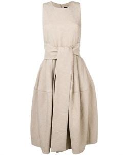Samantha sung расклешенное платье миди без рукавов 6 нейтральные цвета Samantha sung