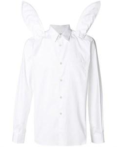 Comme des garcons shirt boys рубашка с панелями в форме кроличьих ушей xl белый Comme des garçons shirt boys