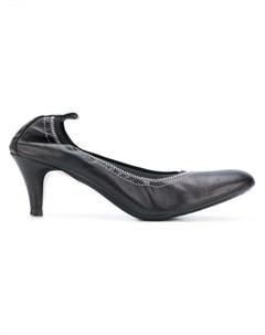 Chanel vintage туфли с эластичной вставкой Chanel vintage