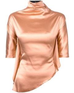 Paula knorr блузка с высокой горловиной m нейтральные цвета Paula knorr