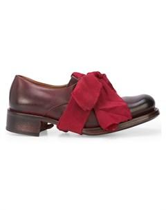 Cherevichkiotvichki туфли на ленточной завязке Cherevichkiotvichki