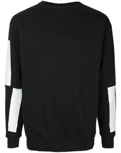 Icosae свитер graphic sleeves Icosae