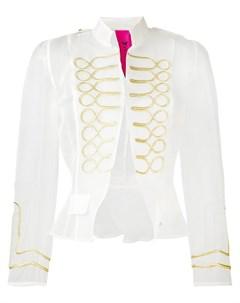 La condesa куртка в стиле милитари borgan La condesa