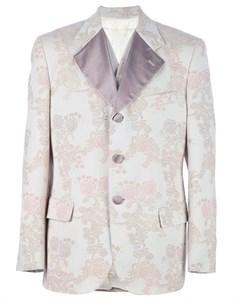 Dolce gabbana vintage костюм с цветочным мотивом нейтральные цвета Dolce & gabbana vintage