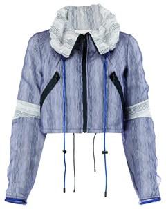 Quetsche укороченная куртка в полоску Quetsche