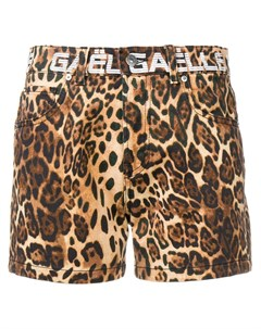 Gaelle bonheur шорты с леопардовым принтом 26 коричневый Gaelle bonheur