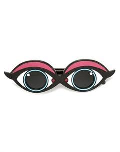 Yazbukey солнцезащитные очки с оправой в виде глаз один размер синий Yazbukey