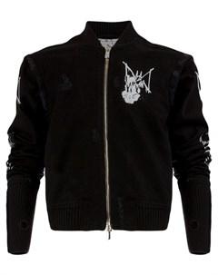 Mjb куртка с принтом graffiti 48 черный Mjb