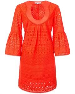 Trina turk расклешенное платье мини Trina turk