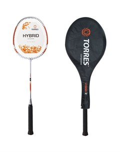 Ракетка для бадминтона Hybrid2 BD20503 оранжевый Torres