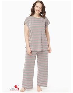 Пижама цвет розовый Amarti