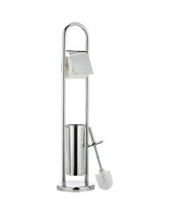 Гарнитур для туалета VIVIAN с держателем для туалетной бумаги и ершиком 13070 Tatkraft
