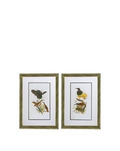 Панно Птицы 2 предмета Гласар