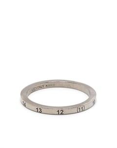 Кольцо с гравировкой Maison margiela
