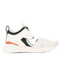 Кроссовки на шнуровке с вырезом Fenty x puma
