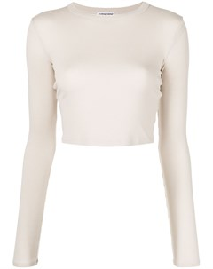 Укороченная футболка Verona с длинными рукавами Cotton citizen