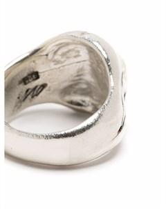 Серебряное кольцо Cranium Our legacy