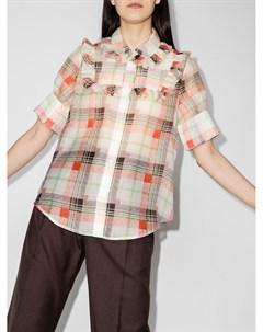 Рубашка Eugenie в клетку Lee mathews