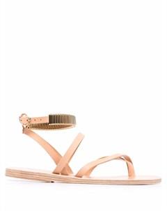Декорированные сандалии Ancient greek sandals