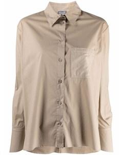 Рубашка с длинными рукавами и жатым эффектом Kristensen du nord