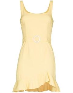 Платье мини Christabell без рукавов De la vali
