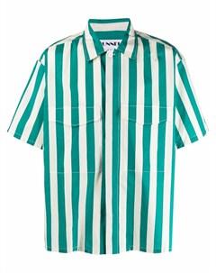 Полосатая рубашка свободного кроя Sunnei