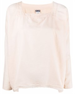 Поплиновая рубашка с квадратным вырезом Kristensen du nord