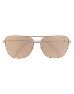 Солнцезащитные очки авиаторы Moncler eyewear