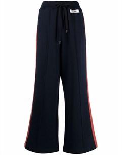 Трикотажные брюки широкого кроя Marni