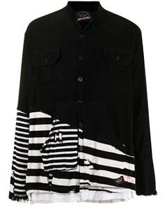 Полосатая рубашка с эффектом потертости Paul & shark