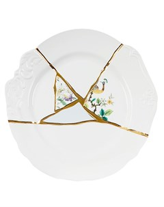Тарелка Kintsugi No 2 Seletti