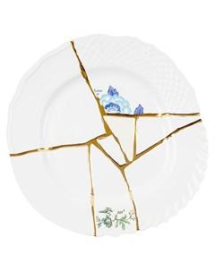 Тарелка Kintsugi No 3 28 см Seletti