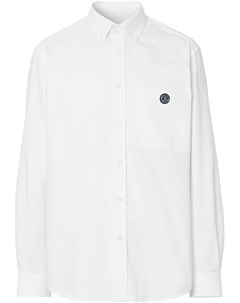 Рубашка оксфорд с монограммой Burberry