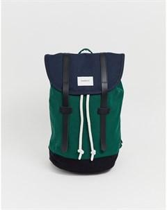 Зеленый рюкзак Stig Sandqvist