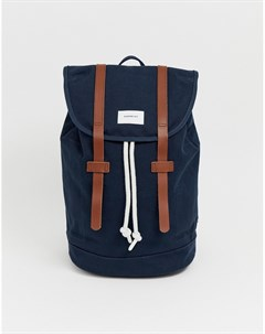 Темно синий рюкзак Large Stig Sandqvist