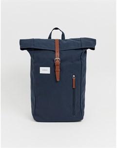 Темно синий рюкзак роллтоп Dante Sandqvist