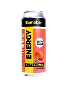 Напиток L карнитин Energy Грейпфрут 500 мл Bombbar