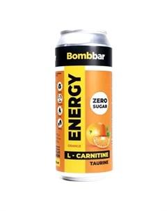 Напиток L карнитин Energy Апельсин 500 мл Bombbar