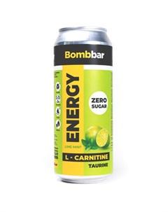 Напиток L карнитин Energy Лайм и мята 500 мл Bombbar