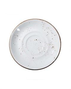Блюдце Rustics цвет белый Petye