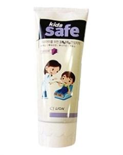 Зубная паста со вкусом винограда Kids Safe 90г Lion