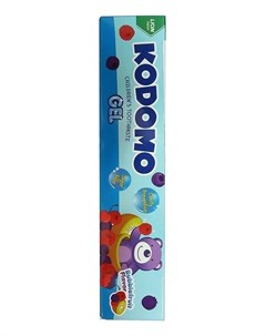 Гелевая зубная паста со вкусом мультифрукта от 6 месяцев Kodomo Gel 40г Lion